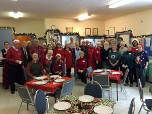 Volunteers Christmas Day at St. Mary's 2017