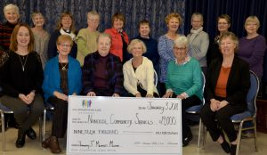 100+Women Present Cheque to NCS