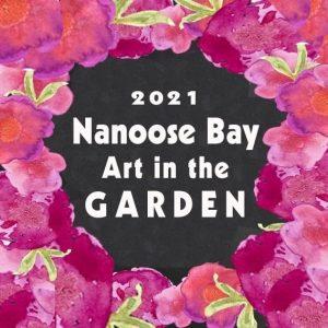 Nanoose Bay Art in the Garden 2021 poster